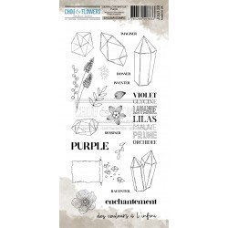 Tampon clear - Purple -...