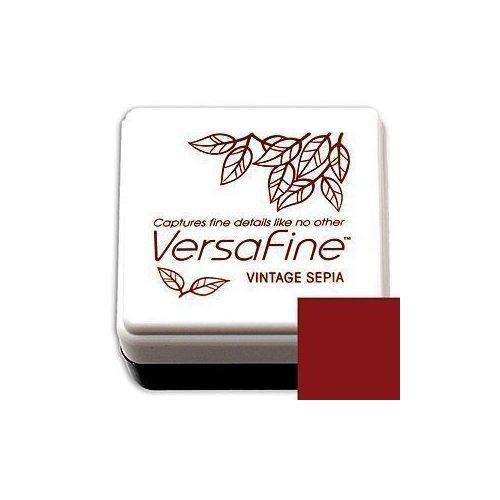 Mini-encreur Versafine bordeaux - Vintage Sepia - Tsukineko