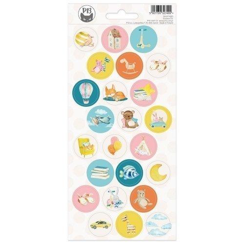 Stickers ronds - Good night...