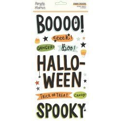 Stickers mousse - Spooky...