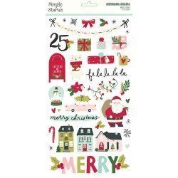 Chipboards Stickers - Holly...