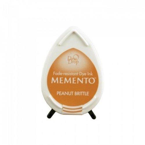 Mini encreur beige Memento Dew Drop - Peanut Brittle - Tsukineko