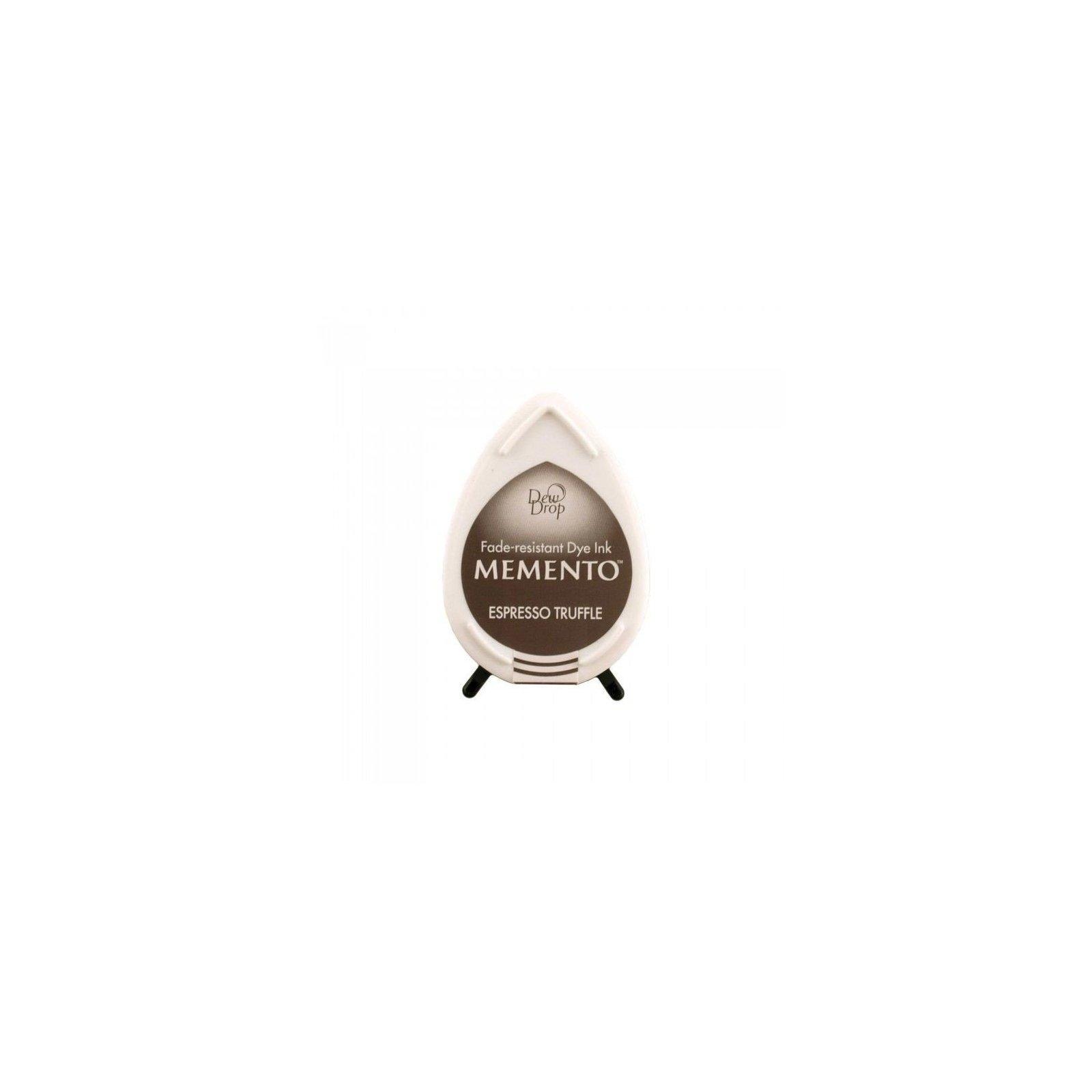 Mini encreur marron Memento Dew Drop - Espresso Truffle - Tsukineko