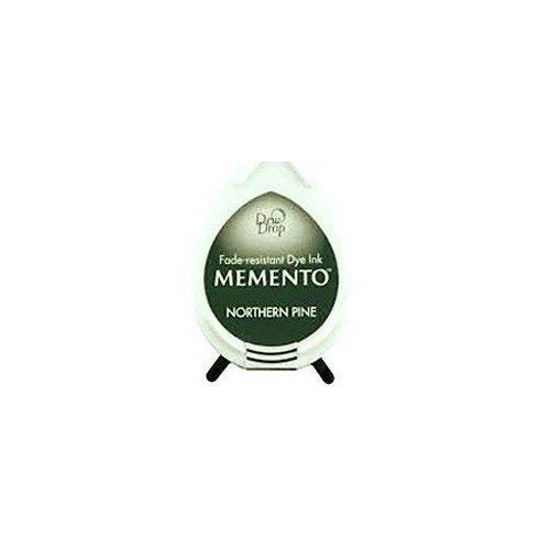 Mini encreur vert forêt Memento Dew Drop - Northern Pine - Tsukineko