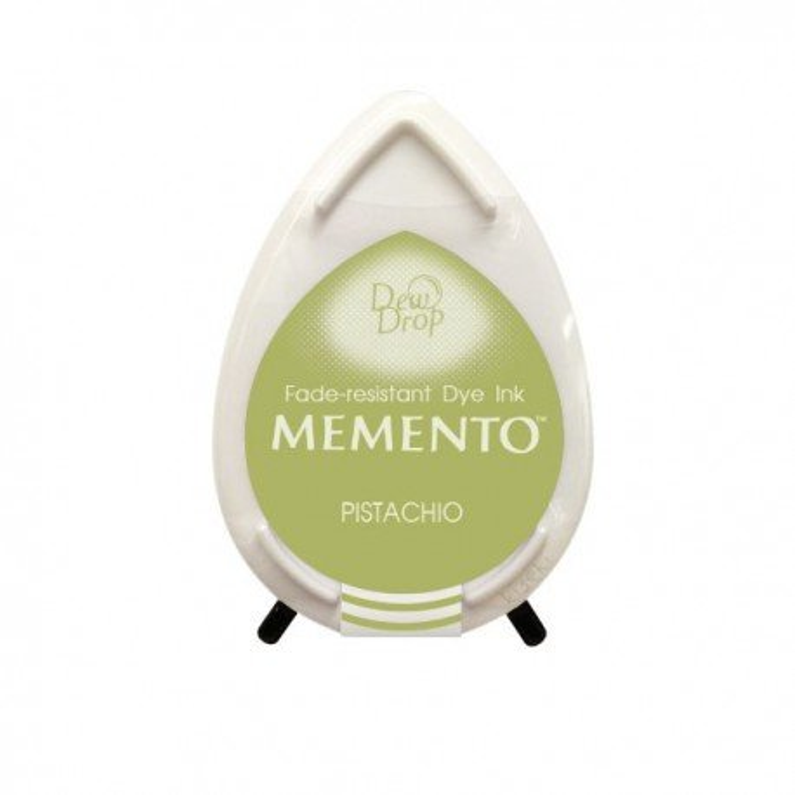 Mini encreur vert pistache Memento Dew Drop - Pistachio - Tsukineko