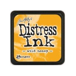 Mini encreur jaune miel Distress - Wild honey - Ranger
