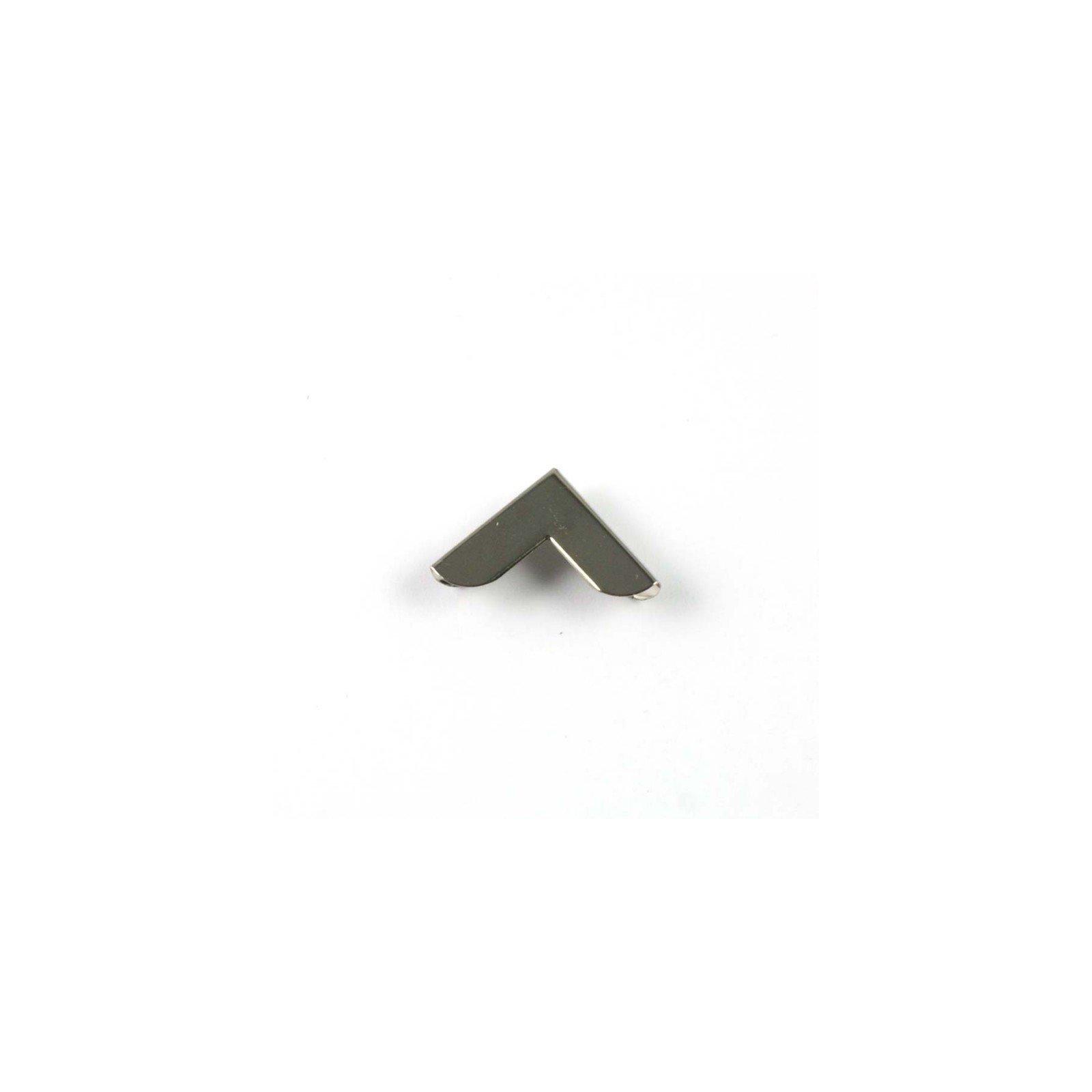 Coin en métal argenté 20x20 mm - Ephemeria