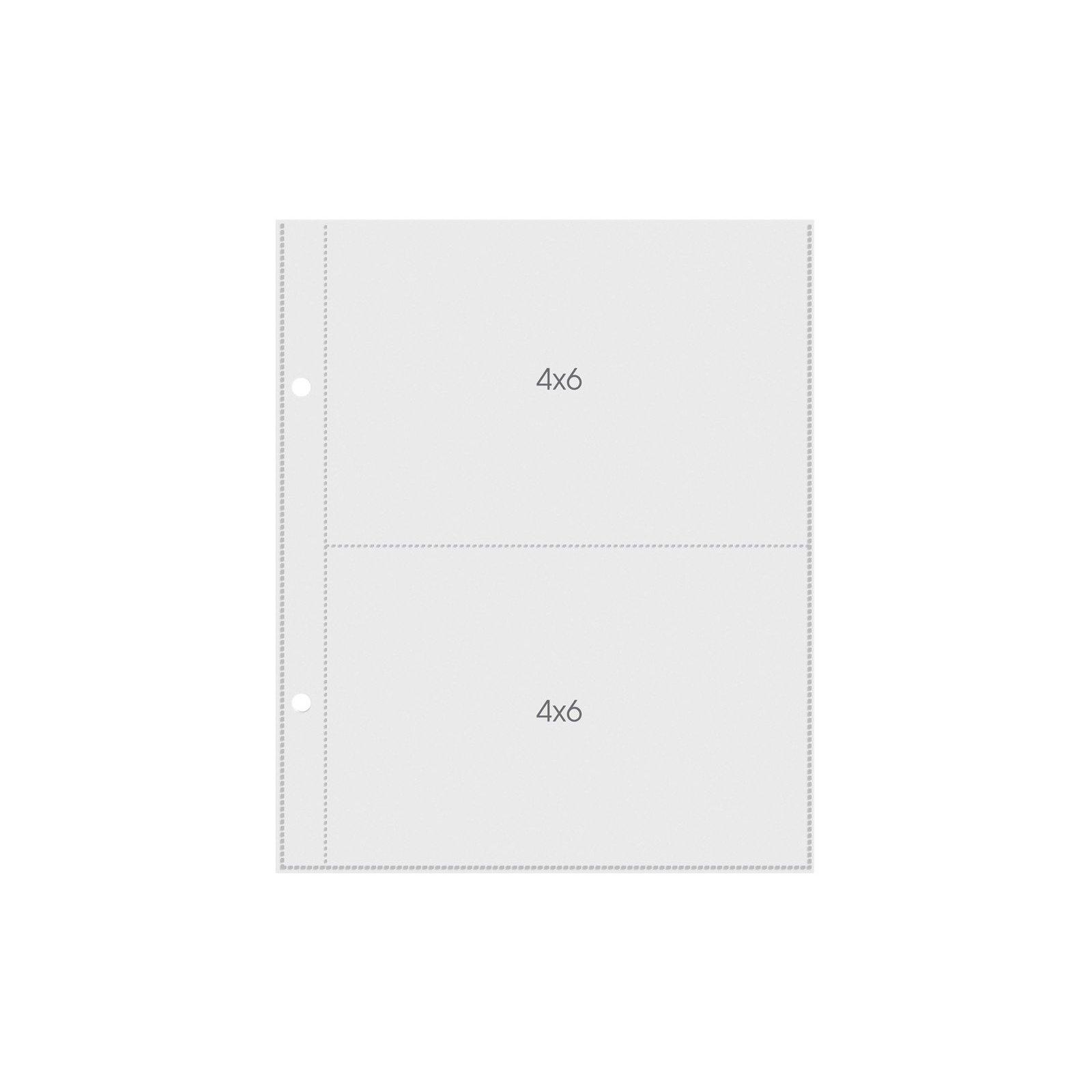 Pochettes Sn@P! Pocket pages 15x20 - 2 compartiments 10x15 - Simple Stories