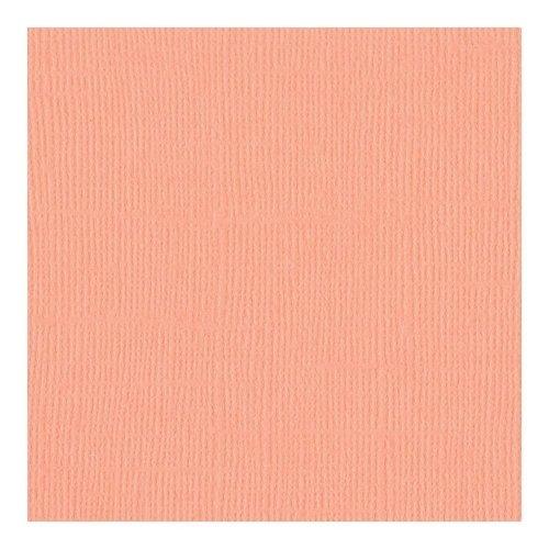 Papier corail - Coral Cream - Mono - Bazzill Basics Paper