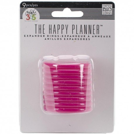 Grands anneaux rose - 4.5cm - Happy Planner Create 365 - MAMBI