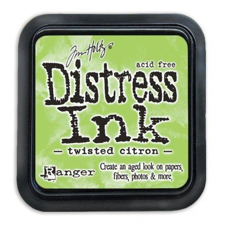 Mini encreur vert Distress - Twisted Citron - Ranger