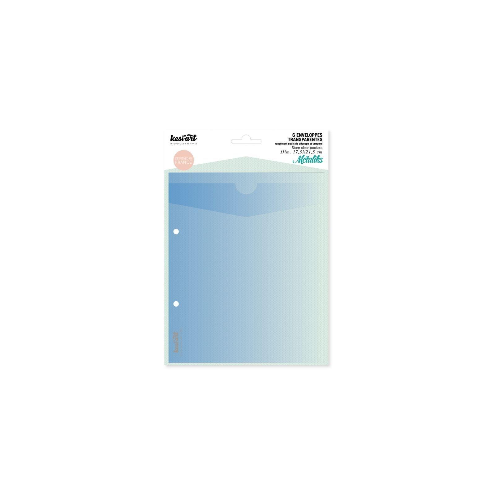 Enveloppes transparentes de rangement - Kesi'art