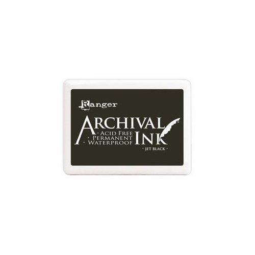 Encreur Archival noir - Jet Black - Ranger