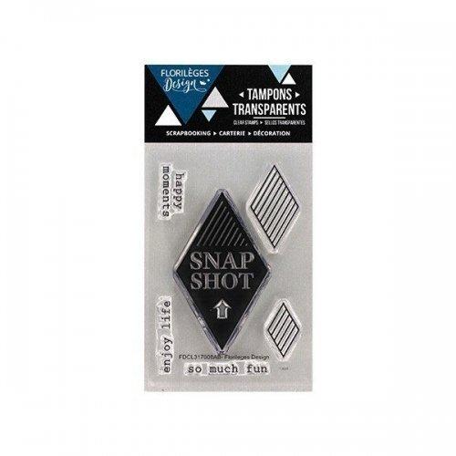Tampon transparent - Snapshot - Florilèges Design