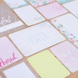 Core Kit Project Life - 616 cartes - Edition  rêves - Becky Higgins