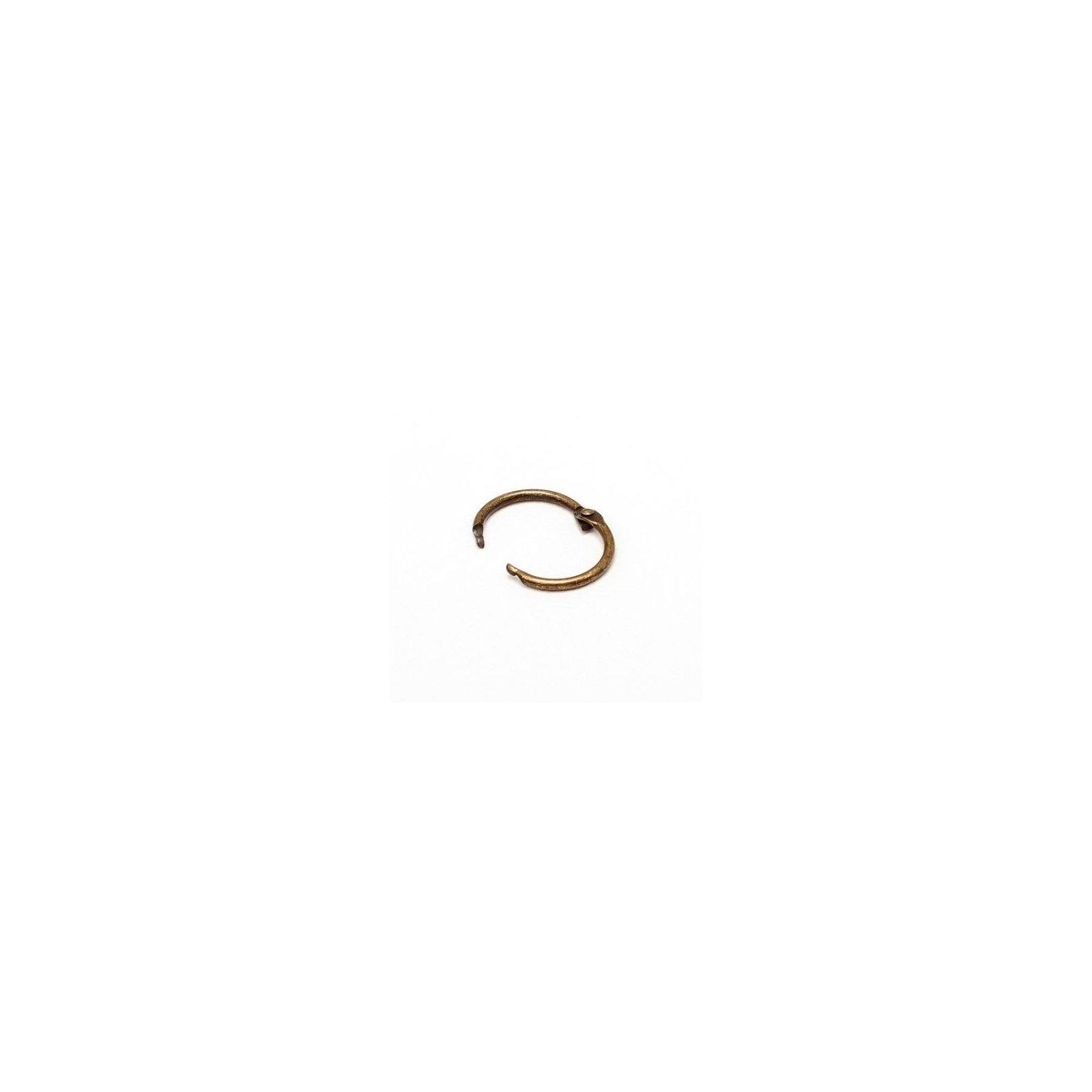Anneau brisé - Diamètre 25 mm - Bronze- Ephemeria