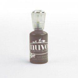 Nuvo Crystal Drops - Noisette foncé - Dark walnut - Tonic Studio