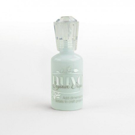 Nuvo Crystal Drops - Bleu layette - Duck egg blue - Tonic Studio