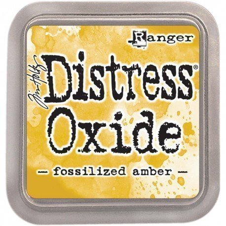 Grand encreur jaune Distress Oxide - Fossilized amber - Ranger