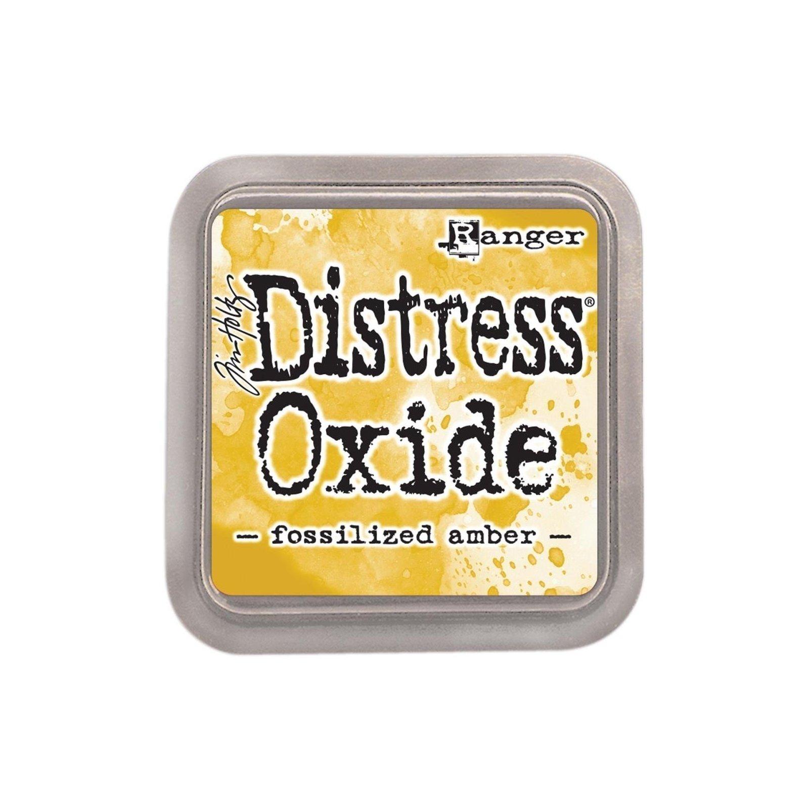 Grand encreur jaune Distress Oxide - Fossilized amber - Ranger
