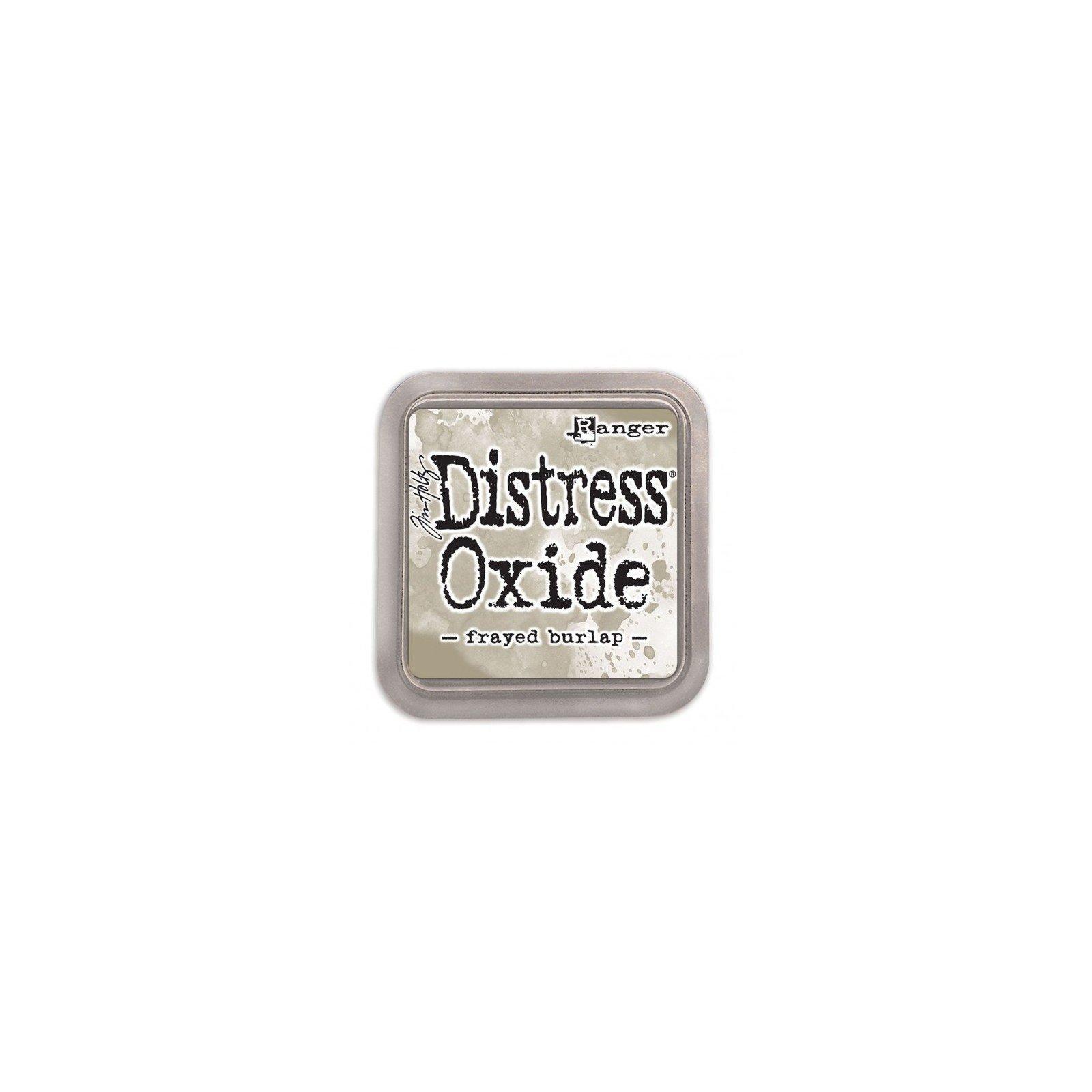 Grand encreur beige Distress Oxide - Frayed Burlap - Ranger