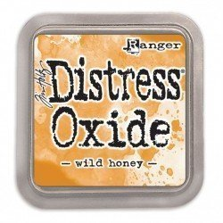 Grand encreur orange miel Distress Oxide - Wild honey - Ranger