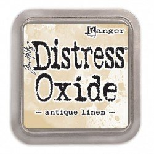 Grand encreur beige Distress Oxide - Antique linen - Ranger