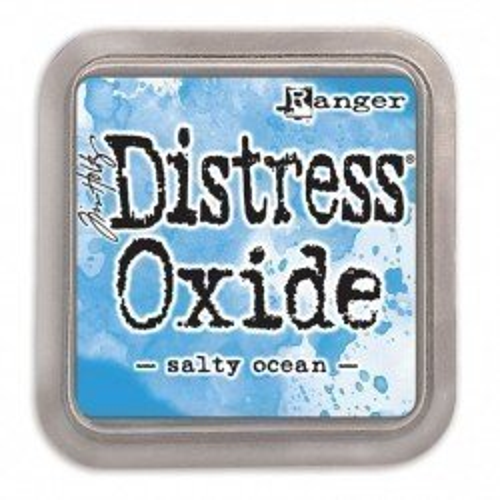 Grand encreur bleu Distress Oxide - Salty Ocean - Ranger