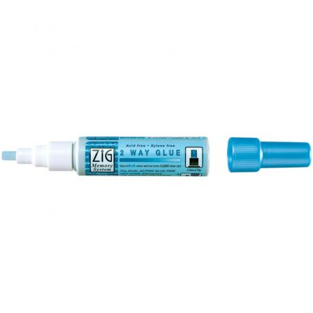 Feutre colle ZIG - 2 way glue - Kuretake