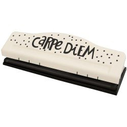 Perforatrice pour reliure Planner A5 - 6 trous - Carpe Diem - Simple Stories