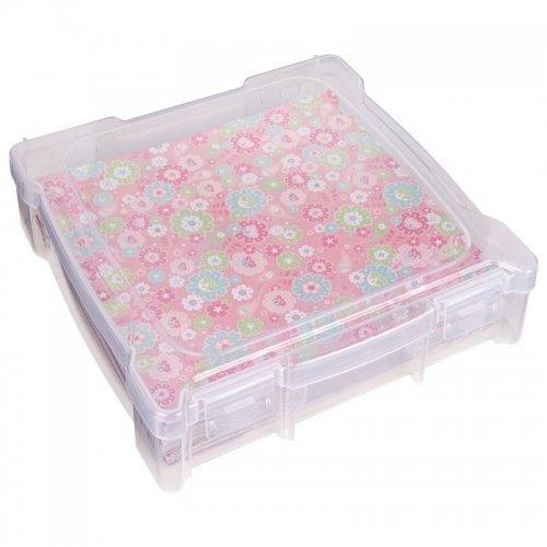 Boîte de rangement transparente pour papiers 30x30 - Essentials -ArtBin