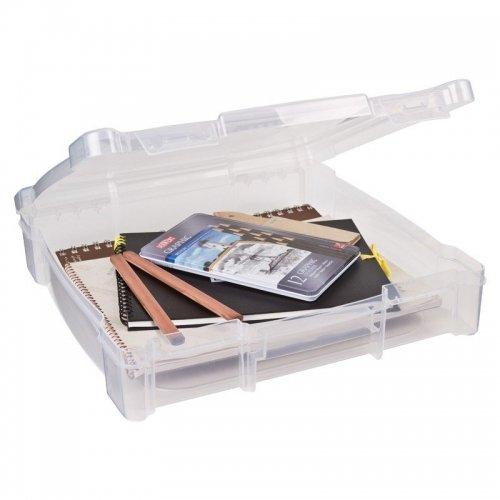 Boîte transparente pour papiers 30x30 - ArtBin