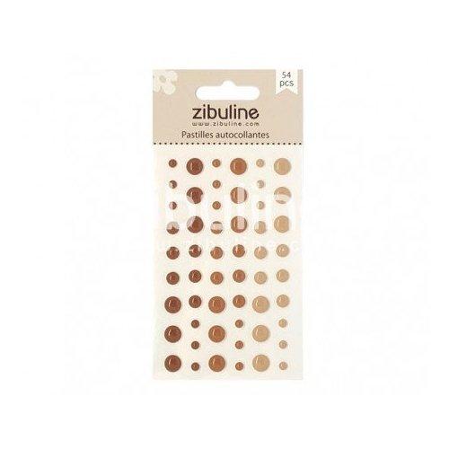 Enamel dots - Marron - Zibuline