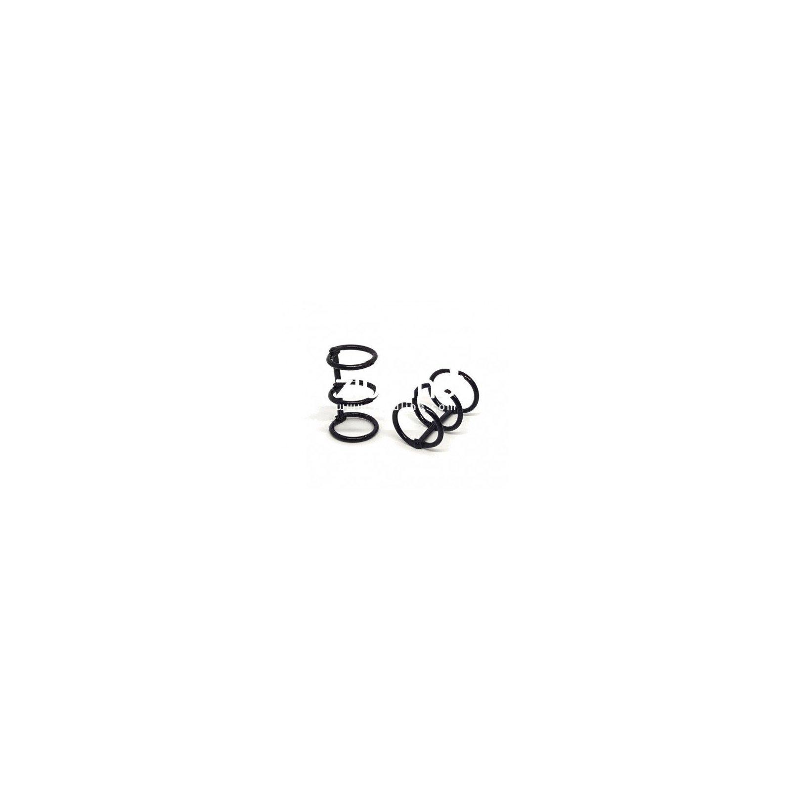 Reliure 3 anneaux 2 cm - Noir - Zibuline