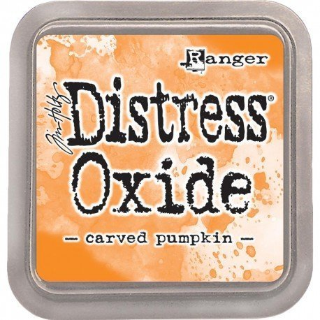 Grand encreur orange Distress Oxide - Carved Pumpkin - Ranger