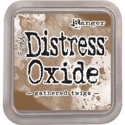 Grand encreur marron Distress Oxide - Gathered twigs - Ranger