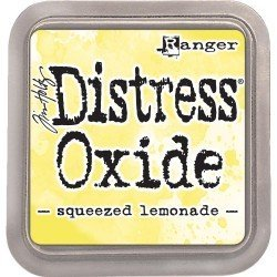 Grand encreur jaune Distress Oxide - Squeezed Lemonade - Ranger