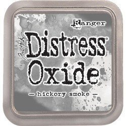 Grand encreur gris Distress Oxide - Hickory Smoke - Ranger