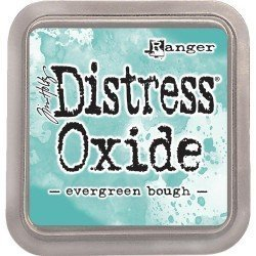 Grand encreur turquoise Distress Oxide - Evergreen Bough - Ranger