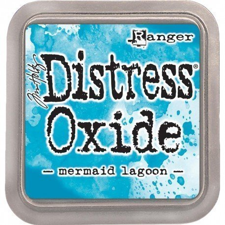 Grand encreur bleu lagon Distress Oxide - Mermaid Lagoon - Ranger