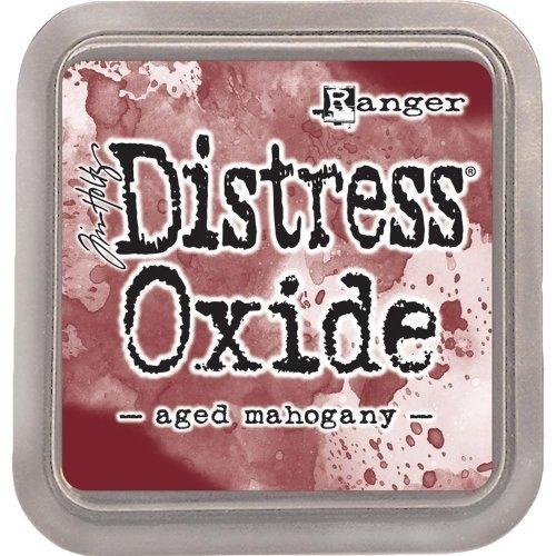Grand encreur rouge lie de vin Distress Oxide - Aged mahogany - Ranger