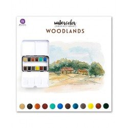 Assortiment d'aquarelles - Woodlands - Prima Marketing