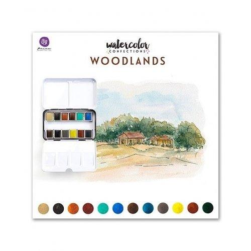 Assortiment d'aquarelles - Woodlands - Prima Marketing