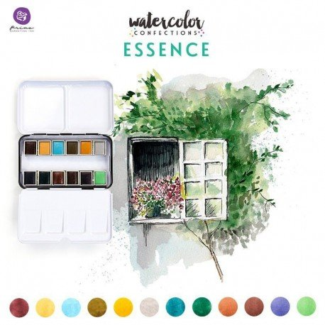 Assortiment d'aquarelles - Essence - Prima Marketing