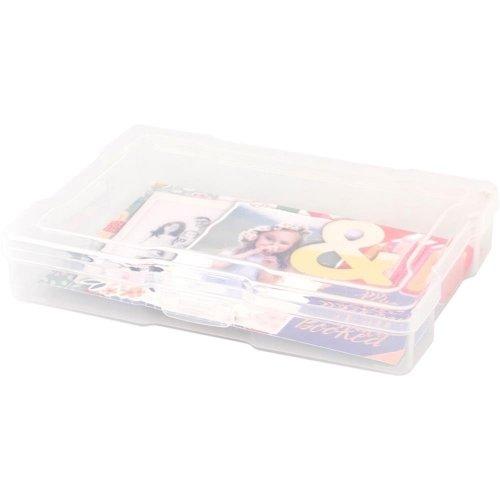 Boîte de rangement transparente - 10x15 cm - We R memory keepers