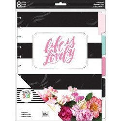 Intercalaires - Life is Lovely - Big Happy Planner - Create 365 MAMBI