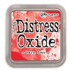 Grand encreur rouge Distress Oxide - Barn Door - Ranger
