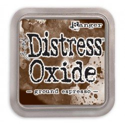 Grand encreur marron Distress Oxide - Ground Espresso - Ranger