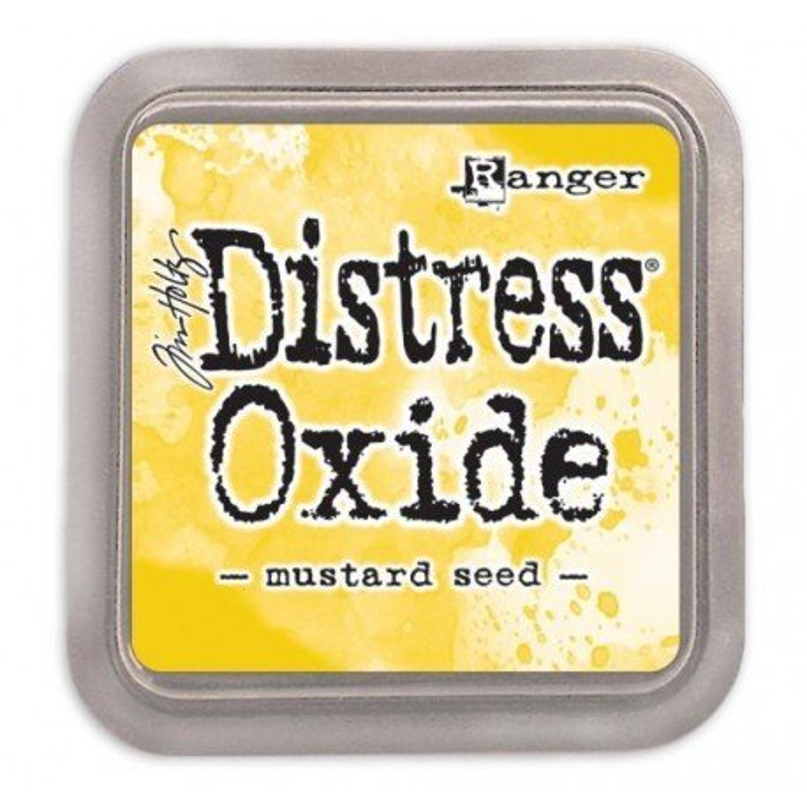 Grand encreur jaune Distress Oxide - Mustard Seed - Ranger