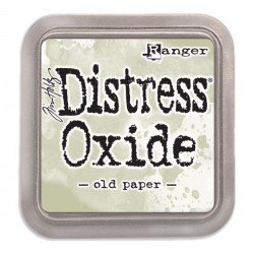 Grand encreur vert Distress Oxide - Old Paper - Ranger